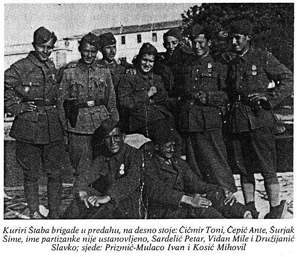 Kuriri 11. dalmatinskog korpusa