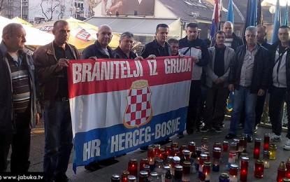 Branitelji iz Gruda stigli u Zagreb podržati prosvjede suboraca