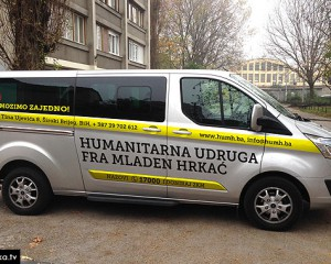 Humanitarna udruga fra Mladen Hrkać kupila prilagođeno vozilo