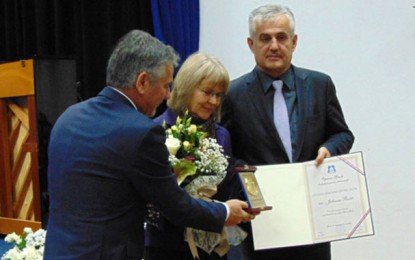 Počasnom građankom Gruda proglašena Julienne Bušić