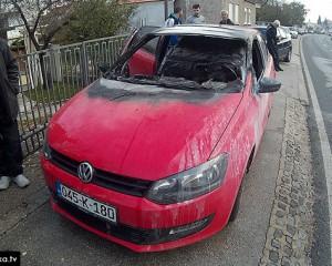 Mostar: Automobil se zapalio u vožnji