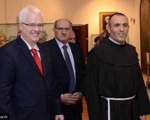 Ivo Josipović posjetio crkvu i Franjevački samostan u Širokom Brijegu