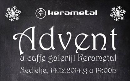 Ljubuški: Advent u caffe galeriji Kerametal