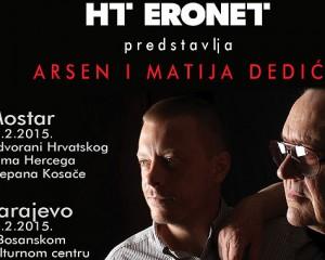 HT Eronet korisnicima daruje ulaznice za koncerte Arsena i Matije Dedića