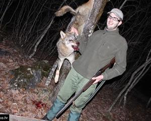 Široki Brijeg: 20-godišnji Tomislav Pinjuh ubio vuka!