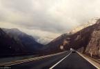 Oblačno cesta