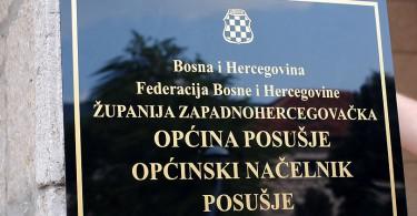 Općina Posušje tabla