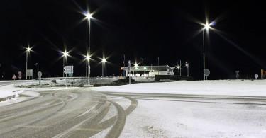 Autocesta Kiseljak snijeg
