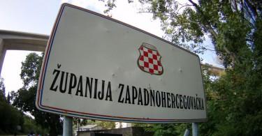 Županija Zapadnohercegovačka tabla