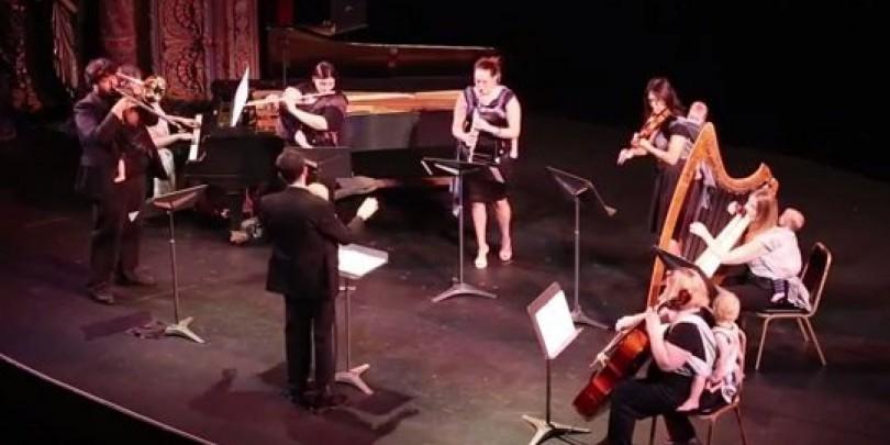 babywearing orchestra jabukatv