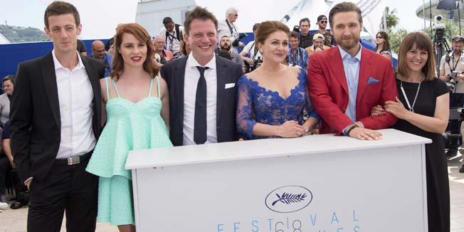 Cannes, 17.05.2015 - Redatelj Dalibor Matanic i glumacka ekipa na filmskom festivalu s filmom Zvizdan
