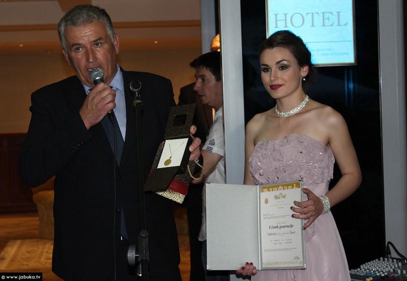 Gabrijela Šarić - učenica generacije