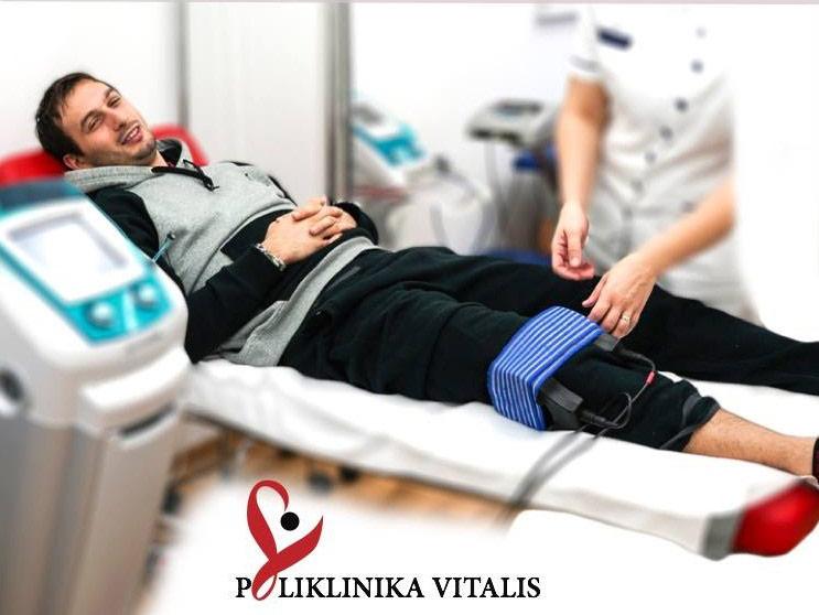 Rukometni reprezentativac Igor Karačić se oporavlja od ozljede u Poliklinici Vitalis