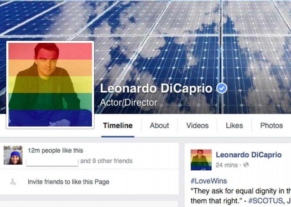 leo celebrates pride