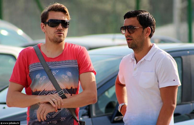 Boris Pandža (lijevo)