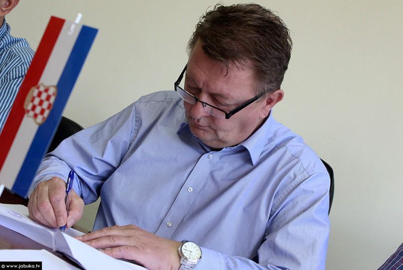 Zdenko Ćosić, predsjednik Vlade ŽZH