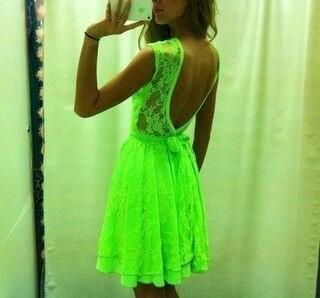 neonska haljina