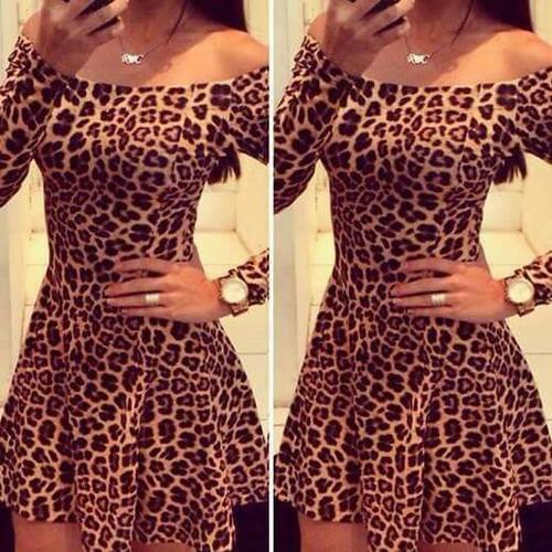 tigrasta haljina