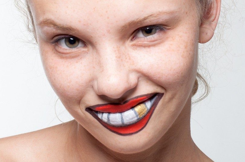 dummy mouth makeup