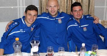 Ivan Crnov, Dino Kresinger i Slavko Bralić