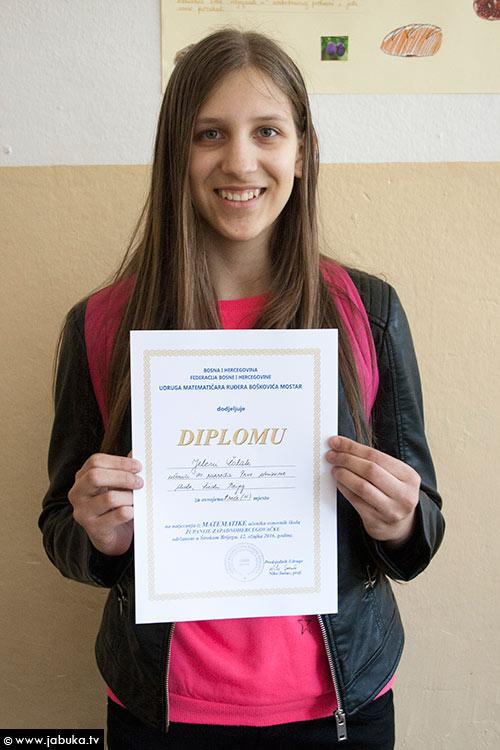 Jelena Čolak, Prva osnovna škola Široki Brijeg