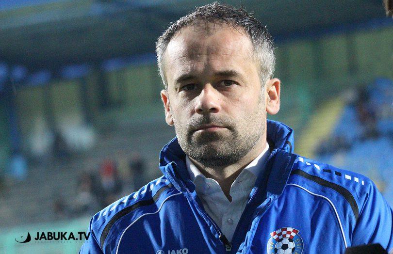 Dalibor Šilić uoči utakmice NK Široki Brijeg