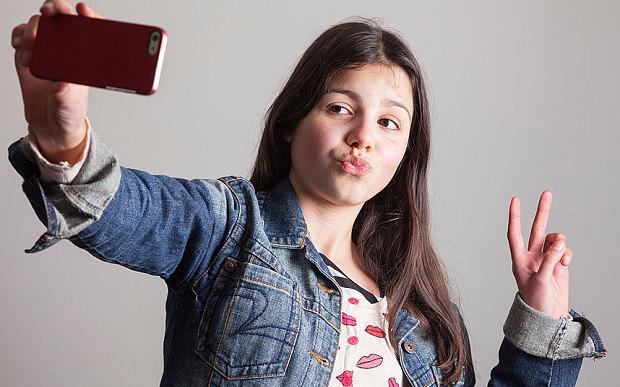 djevojcica selfie