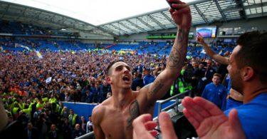 Slavlje navijača i igrača Brightona
