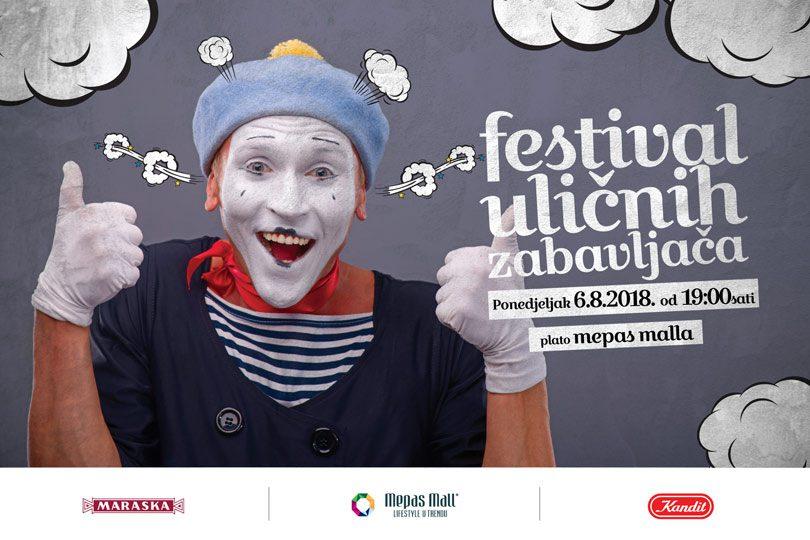 Mepas Mall - festival uličnih zabavljača