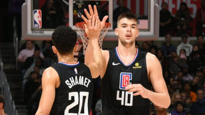 「Ivica Zubac clippers 」的圖片搜尋結果