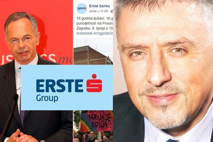 Profesor s FPZ-a zatvorio račun u erste banci radi promoviranja homoseksualnosti... Erste-banka-boris-havel-810x540