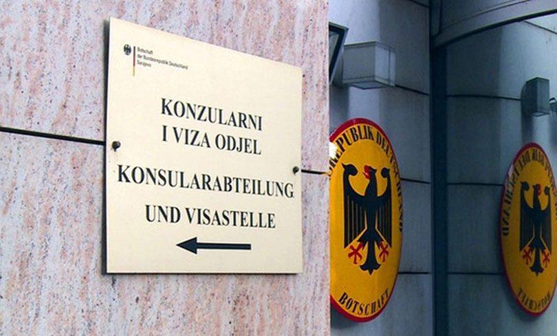 Veleposlanstvo Njemačke u BiH uvelo novinu za dobivanje vize – Jabuka.tv