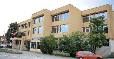Zgrada Vlade i Skupštine ŽZH Županija u Širokom Brijegu, bočna strana