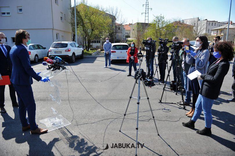 Konferencija za medije Stožera civilne zaštite ŽZH u Širokom Brijegu