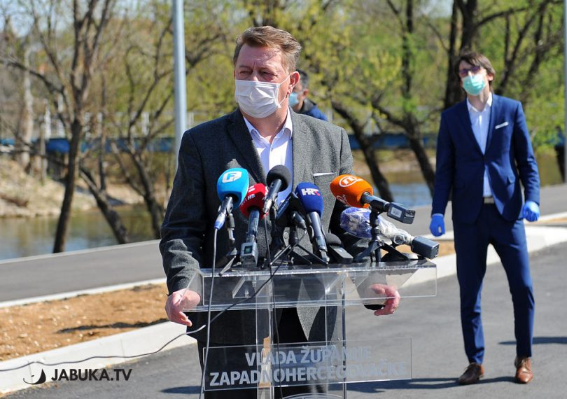 Zdenko Ćosić, predsjednik Vlade ŽZH i zapovjednik Stožera civilne zaštite ŽZH