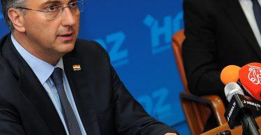 Andrej Plenković, predsjednik Vlade Republike Hrvatske u Mostaru