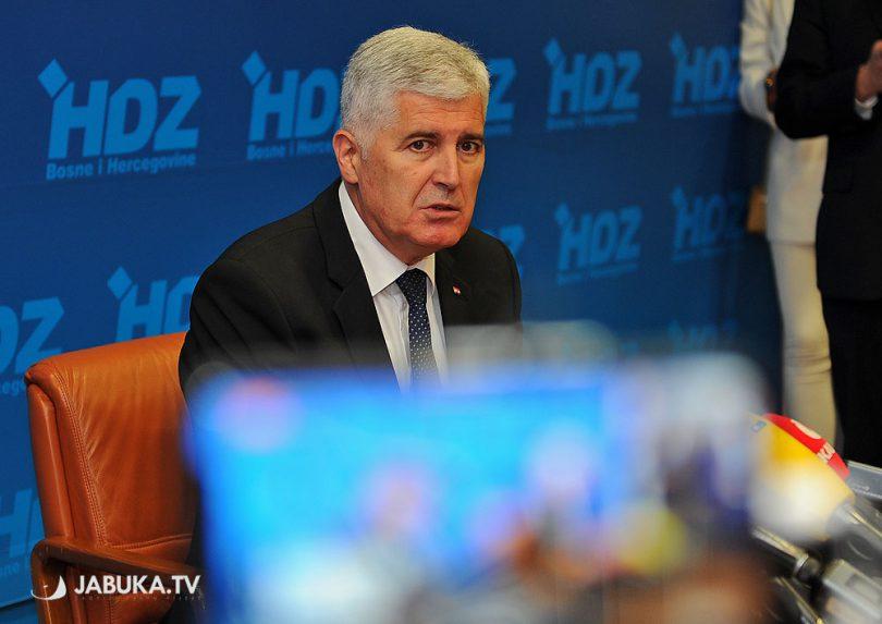 Dragan Čović, predsjedavajući Doma naroda Parlamentarne skupštine BiH, predsjednik HDZ-a BiH i HNS-a BiH