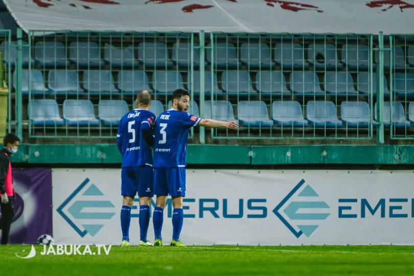 Tomislav Čuljak i Kristijan Medić živi zid
