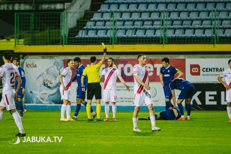 Ognjen Todorović žuti karton